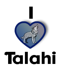 I Heart Talahi Small By Spacecrazed